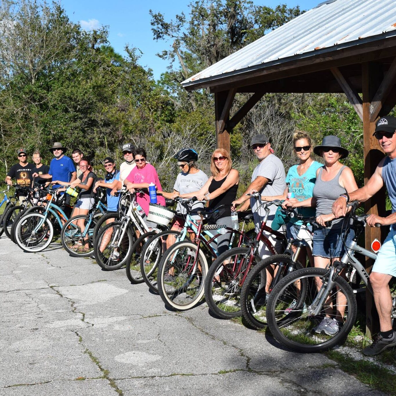 Come explore the state park on foot, horseback, car, or bike!